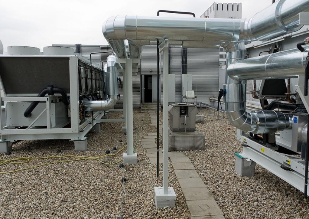 монтаж климатического оборудования и систем вентиляции
